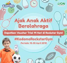 Teman Kodomo X ROCKSTAR Gym