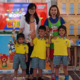 Kodomo Goes To School berkunjung ke TK.BPK PENABUR Kota Bandung