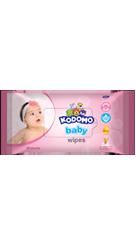 Kodomo Baby Wipes Rice Milk Pink