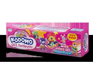 Kodomo Regular Toothpaste Mixed Berries Gel