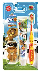 Kodomo Toothbrush Kids 6+ 2in1 Strawberry Mint