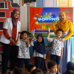 Kodomo Goes To School berkunjung ke RA. AL MUTTAQIN